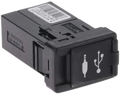 Amazon.com: Aupoko 86190-0R010 Adaptador de puerto USB AUX, conector auxiliar de entrada de audio para reparación de radio de coche, compatible con Toyota Corolla Camry Rav4c Tacoma Sienna Avalon Highlander gas e híbrido: Automotive