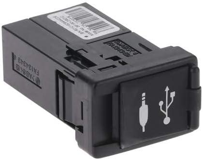 Aupoko 86190-0R010 AUX USB Port Adapter Fits for Toyota Corolla Camry Rav4c Tacoma Sienna Avalon Highlander Gas /& Hybrid Auxiliary Audio Input Jack Car Radio Repair Part