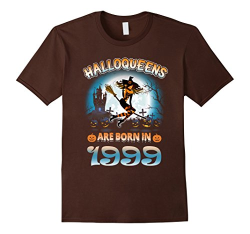 Halloween Costume Ideas For 18 Year Old Male (Mens September 1999 - 18th Birthday Gifts Funny Tshirt Small Brown)