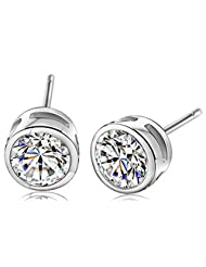Richy-Glory - Pure 925 Sterling Silver stud earring