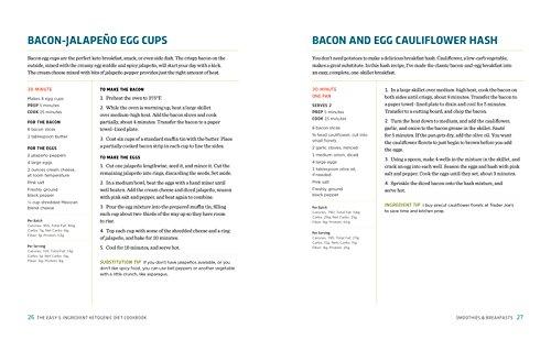 the easy 5 ingredient ketogenic diet cookbook