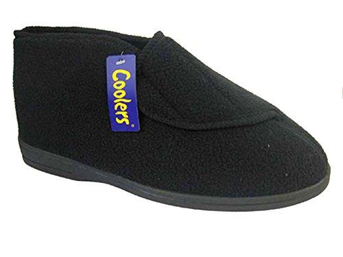 Coolers - Zapatillas de estar por casa para hombre negro