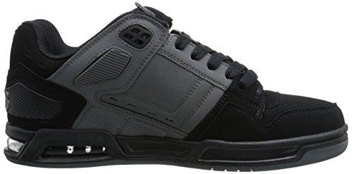Osiris negro/carbón/negro para hombre peligro Skate zapatos