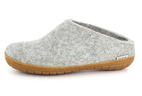Glerups Femmes Rubber Slipper Grey