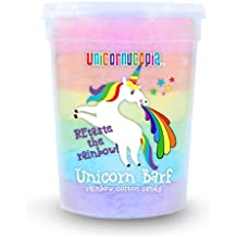 Unicorn Barf Cotton Candy - RAINBOW - Party Supplies Favors Birthday Treats for Kids & Adults - STOCKING STUFFER