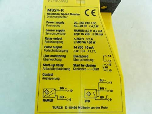 20-250VAC//VDC DPDT Turck MS24-R Speed Monitor
