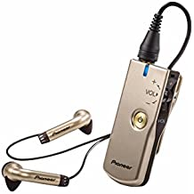 Pioneer Nani ? Personal Sound Amplifier with in-Ear Headphones, Champagne Gold PHA-M70(G)
