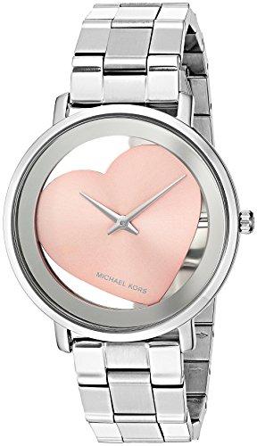 (Michael Kors Women's Jaryn Satinless Steel Watch)