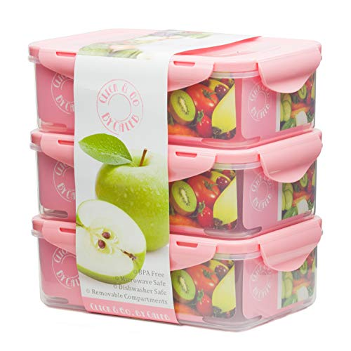 Bento Lunch Box Containers Compartments product image