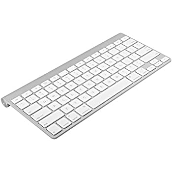 Apple Wireless Keyboard with Bluetooth - Silver (Certified Refurbished)