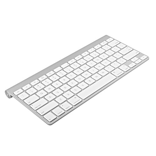 Apple Wireless Keyboard with Bluetooth - Silver (Certified Refurbished) (Bluetooth Keyboard Computer)