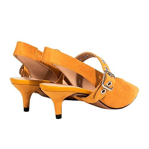 Parfois Schuhe Schuhe mitAbsatz Mittlere Ferse Senf - Damen Senf