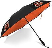 Betta Brella NFL Cincinnati Bengals Better Brella Wind-Proof Umbrella