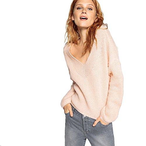 Rosa V A Corto Chiaro Collections La Redoute Donna Scollo Pull cxfwUn8qTZ