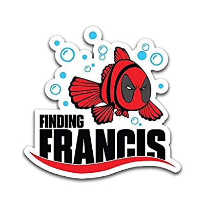 More Shiz Finding Francis Funny Vinyl Decal Sticker - Car Truck Van SUV Window Wall Cup Laptop - One 5.5 Inch Decal - MKS0881: Automotive