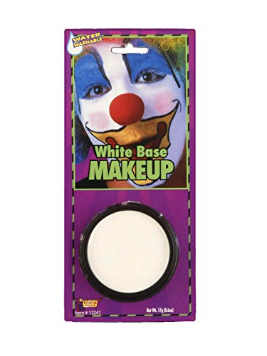 White (Clown White Makeup)