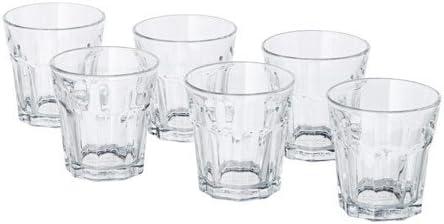 ; 6 Stück Trinkgläser Spülmaschinenfest 5cl IKEA POKAL Schnapsgläser Klarglas;