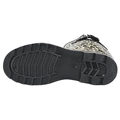 Own Shoe Womens Multiple Styles Rain Snow Winter Flat Rubber Mid Calf Short Rainboot | Rain Footwear