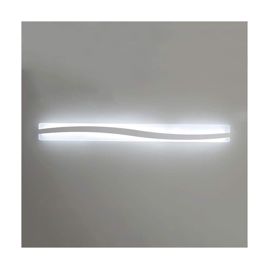 レンズライト ミラーフロントライトLEDウォールランプミラーキャビネットライトバスルーム用化粧ランプベッドルームベッドサイドランプ バスルームライト (色 : 白色光, サイズ さいず : 60cm) B07RMHWSDV 白色光 60cm