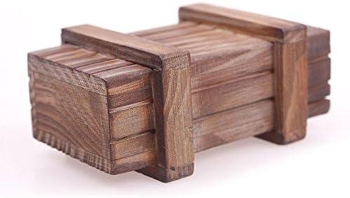 zhuotop Mágico caja de Puzzle de madera aspecto agradable con un ...
