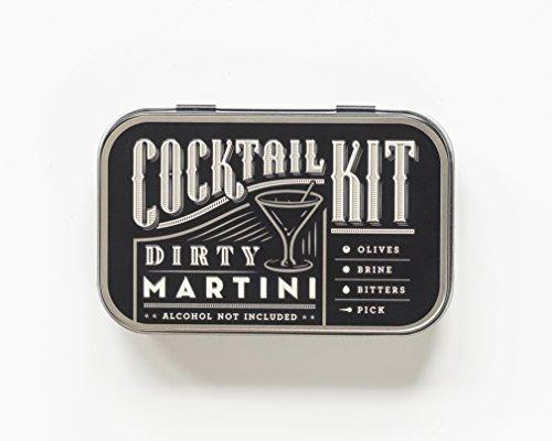 Dirty Martini Cocktail Kit - Bottle Gin