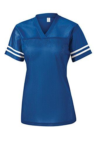 - Gravity Threads Womens Replica Jersey Shirt - True Royal/White - 2X-Large