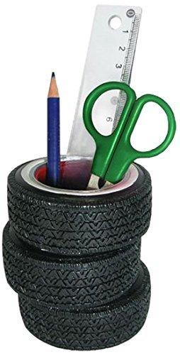 (Sunbelt Gifts 7590-04 Tire Pen Holder, Multi)