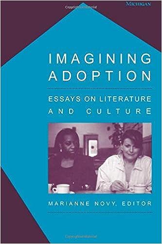 Amazoncom Imagining Adoption Essays On Literature And Culture  Amazoncom Imagining Adoption Essays On Literature And Culture   Marianne Novy Books