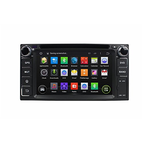 Witson 6.2 Inch Android 5.1.1 Kitkat in Dash Car DVD Playe Radio GPS Navigation Navi Stereo for Toyota Rav4/camry/highlander/corolla/vios/yaris/tundra/land Cruiser/hilux/ Celica/ soluna Vios (Toyota Yaris Dvd compare prices)