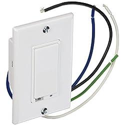 GoControl Z-Wave Wall Dimmer Switch, 1000W - WD1000Z-1 by Nortek