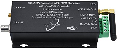 Wireless AIS Receiver + GPS With SeaTalk Converter (Nmea 0183 Output)
