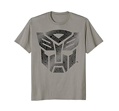 Transformers Autobot Shield Cyber Pattern T-Shirt
