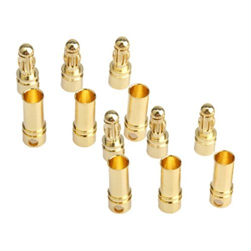 Vktech Gold-plated Bullet Connector (3.5 mm 40pcs)