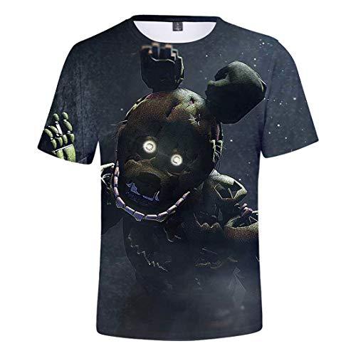 Freddy T Nights Five Shirt Ctooo Stampa Uomo 2xs At 01 Unisex 3xl YdIqq