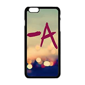 A in neon light Cell Phone Case for iPhone plus 6