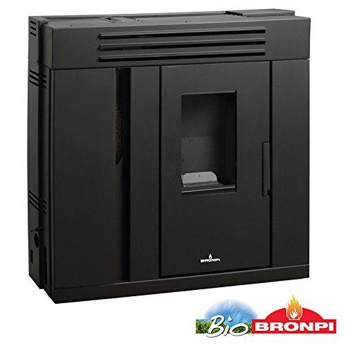 bronpi - Estufa de pellets Slim 9 kW Mod.