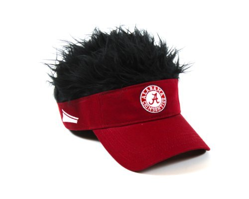 NCAA Alabama Crimson Tide Flair Hair Adjustable Visor, ()