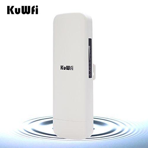 KuWFi CPE-860 WIFI 300Mpbs 2.4G Waterproof Outdoor CPE 1W High Power 3KM Long Range Wireless Outdoor AP access point CPE with...