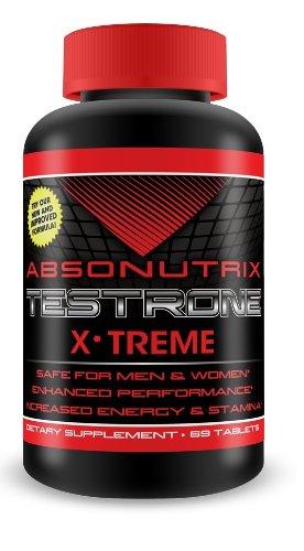(Absonutrix Men/women Xtreme Stamina Testrone - 69 Tablets)