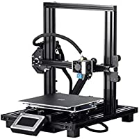 Monoprice MP10 Mini 3D Printer with Removable Heated Flexible Build Plate, Assisted Leveling, and Dual Y Gantry