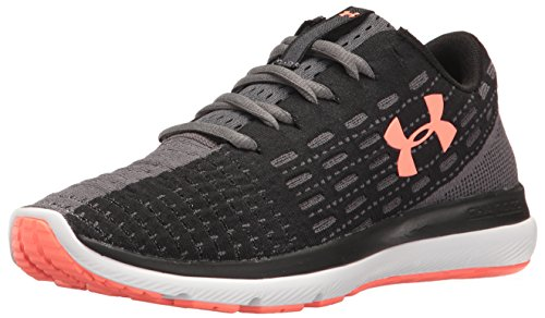 Under Armour Threadborne Slingflex Laufschuh Damen schwarz/koralle