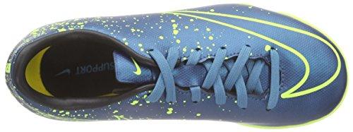 Nike Jr Mercurial Victory V IC Zapatillas de deporte, Niñas Azul / Verde (Squadron Blue / Sqdrn Bl-Blk-Vlt)