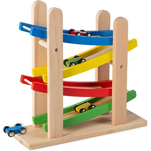 Play22 Wooden Car Ramps