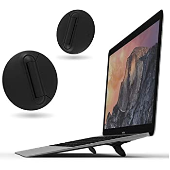 2 Sets OImaster Laptop Stand Silicone Heat Reduction Riser Balls Cooling Balls Laptop Legs Support Cooler Stand Ball for All MackBook Laptop Notebook
