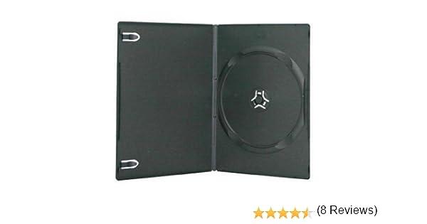 100 cajas Four Square Media para un DVD con carcasa transparente, 7 mm (100 unidades): Amazon.es: Informática