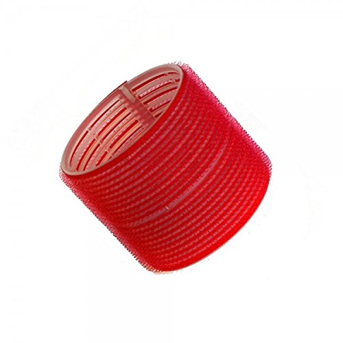 Hair Tools Velcro Cling Hair Rollers - Jumbo Red 70 mm x 6 Globalbeauty 60771