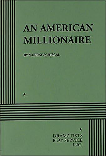 Book An American Millionaire.