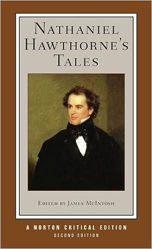 Nathaniel Hawthornes Tales Norton Critical Editions Amazon