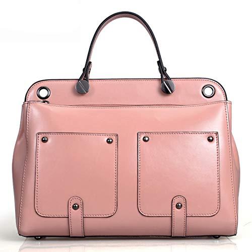 À Houyazhan Bandoulière Pink Light Rose Sac Fourre Pink color Main tout FrqwFH5