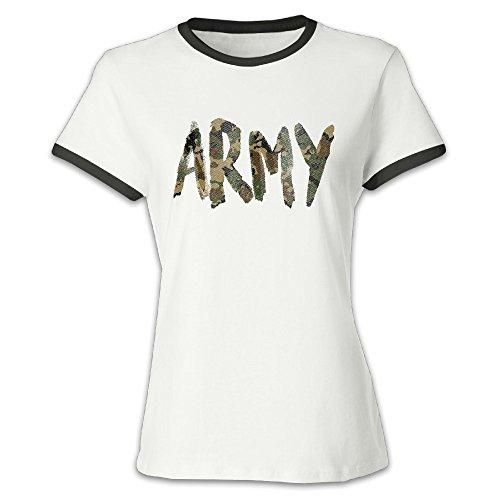 (EroseV US Army Women's Short-Sleeve Adults)